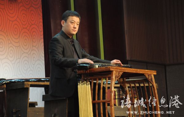 """古琴名家汇聚龙城 演绎""""舜韵流觞""""图片"""
